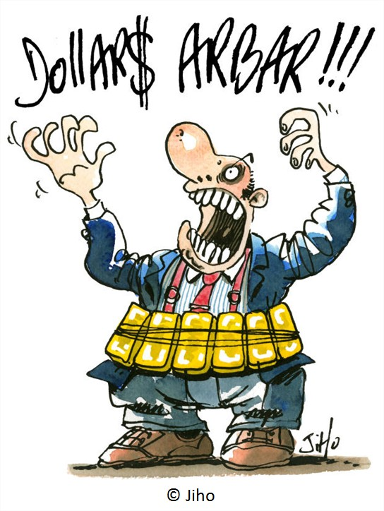 Dessin salaires PDG USA Cartoon
