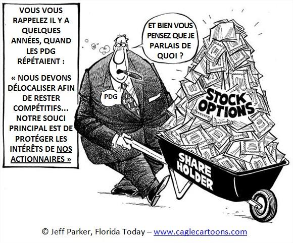 Filing stock options