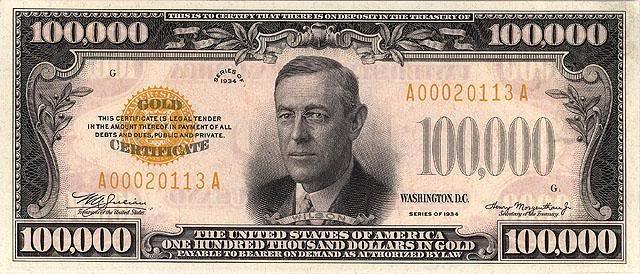 100000$ 1934