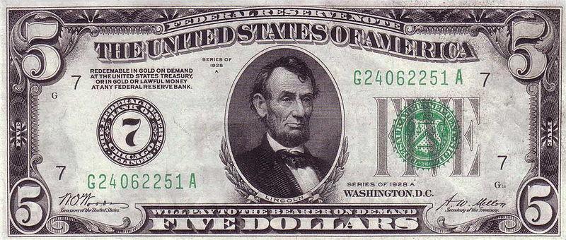 5$ 1928