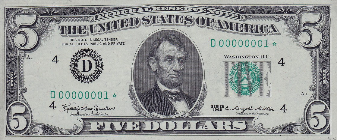 5$ 1963