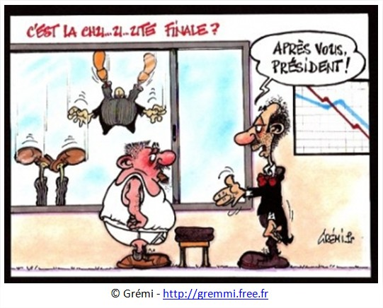 Dessin Cac 40 humour cartoon