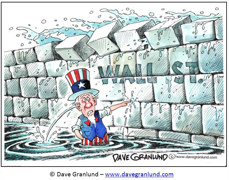 Dessin Bourse humour cartoon