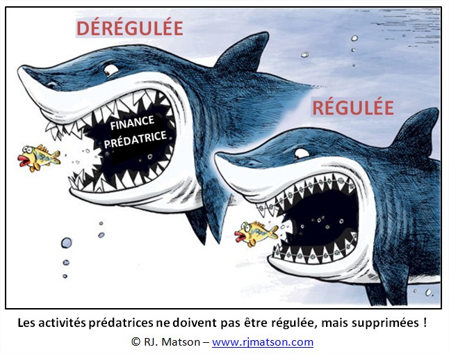 humour cartoon régulation finance