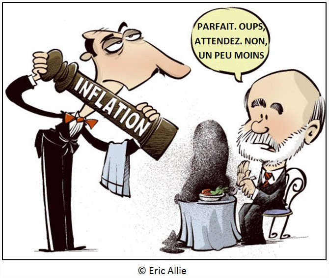 dessin humour cartoon inflation