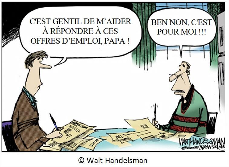Cartoon chômage