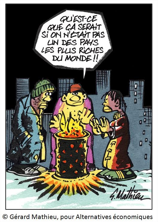 Cartoon dessin humour chômage