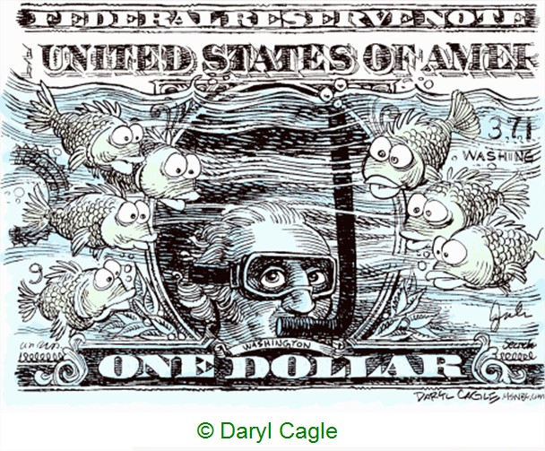Cartoon dollar