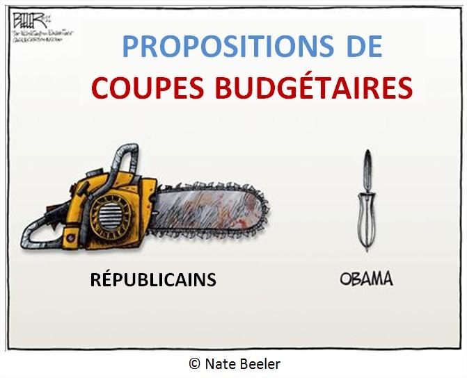 Dessin Cartoon Dette publique USA