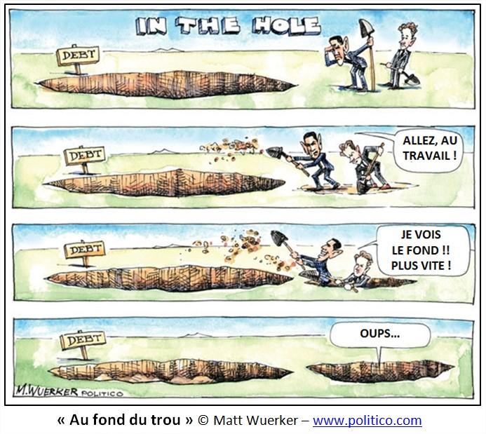 Dessin Cartoon dette américaine