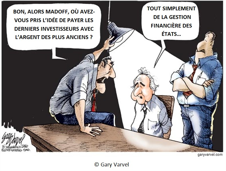 Dessin Cartoon dette américaine