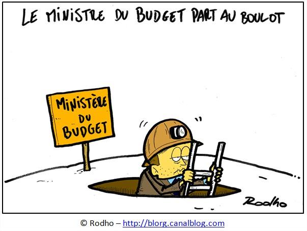 dessin budget etat france français