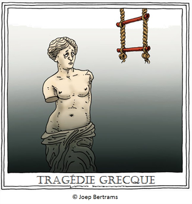 Cartoon Grèce