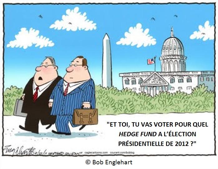 Dessin Cartoon Démocratie et Finance