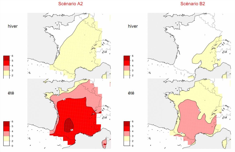 Evolution du climat france
