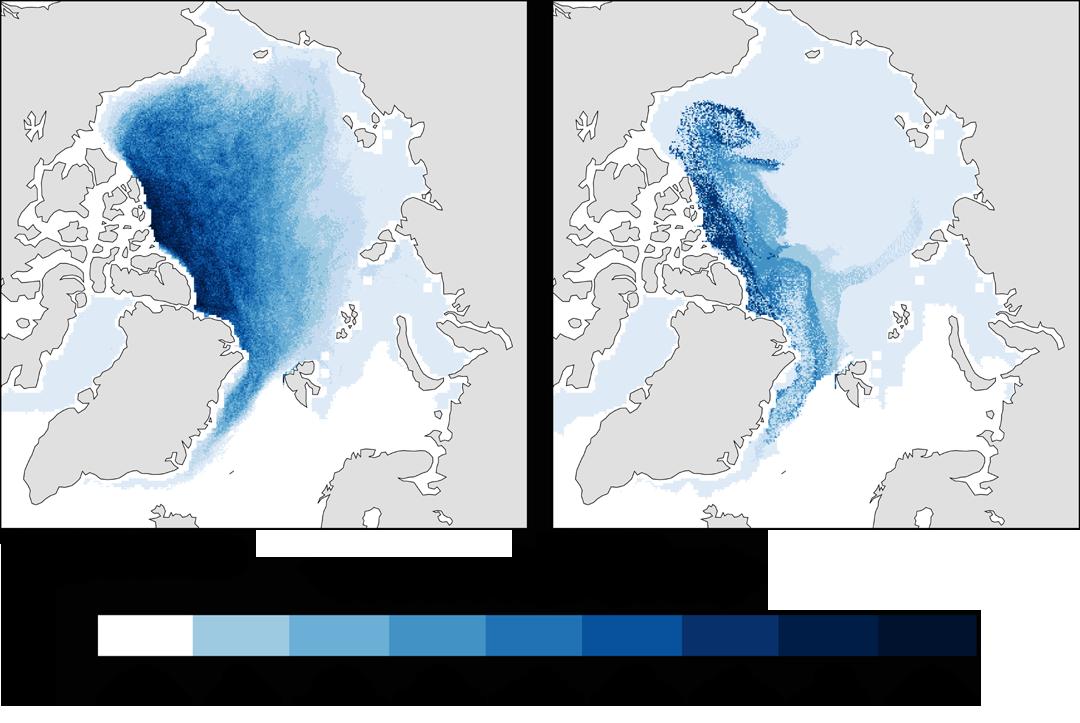 Age de la banquise Arctique