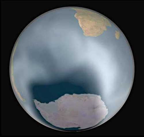 Nouvelles données sur l'appauvrissement de la couche d'ozone