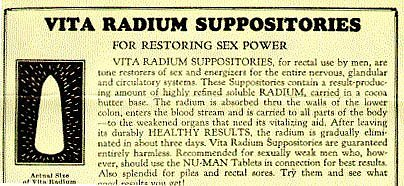 Découverte Radioactivité bénéfique