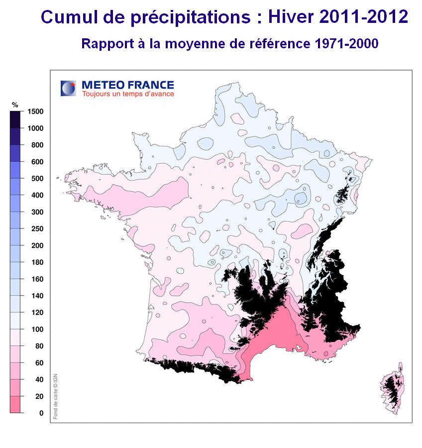 saison précipitations