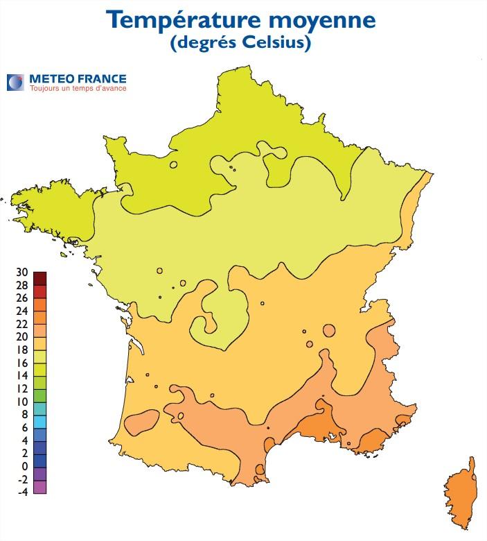 1370 Point Météo u2013 Juin  # Meteo Les Bois Francs