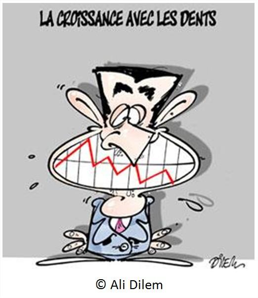 Cartoon Dessin Croissance
