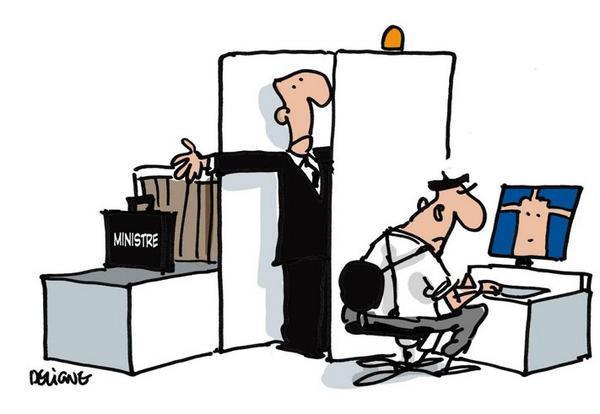 dessin humour cartoon patrimoine ministres