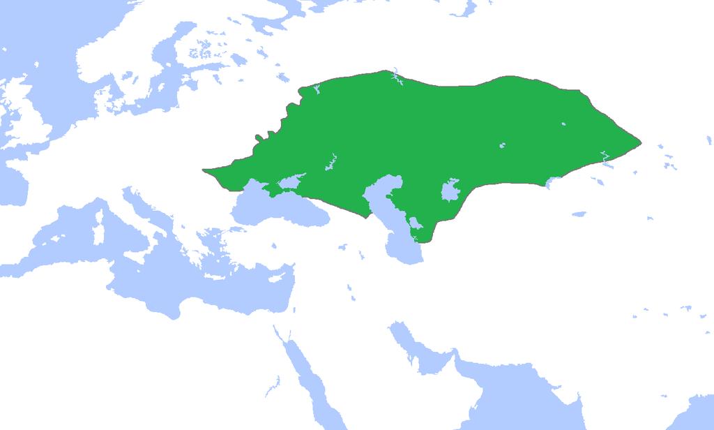 La Horde d'Or vers 1300