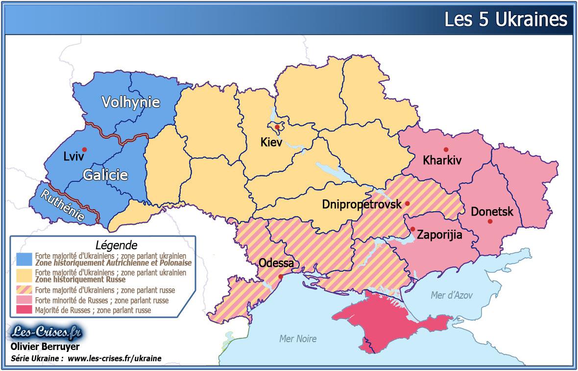 Les 5 Ukraines