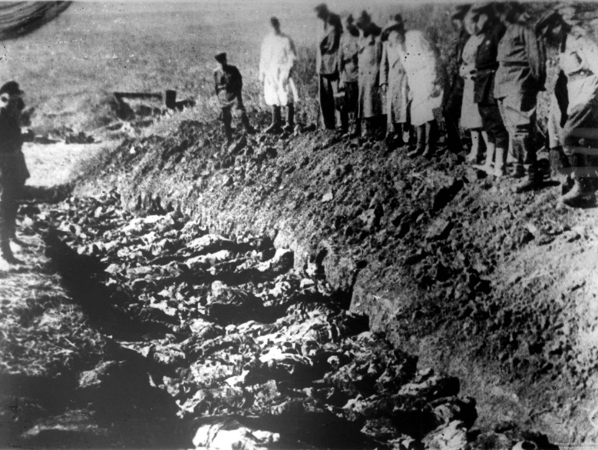 einsatzgruppen baby yar and rumbula The einsatzgruppen sent back to berlin detailed reports of their activities, which   were at babi yar (kiev), ponary (vilna), rumbula (riga) and fort ix (kovno.
