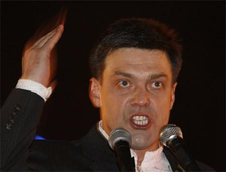 Au printemps 2005, Tyahnybok approfondit ses activités antisémites en rédigeant une lettre ouverte