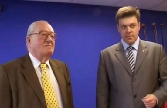 Le Pen et Tyagnibok