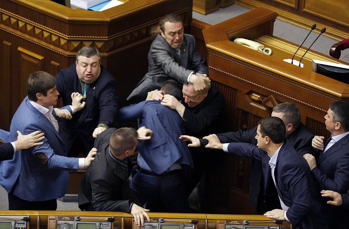 Igor Mirochnitchenko au parlement