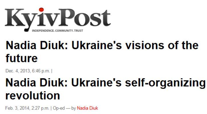 Affrontements en Ukraine : Ce qui est caché par les médias et les partis politiques pro-européens - Page 2 71-articles-nadia-diuk