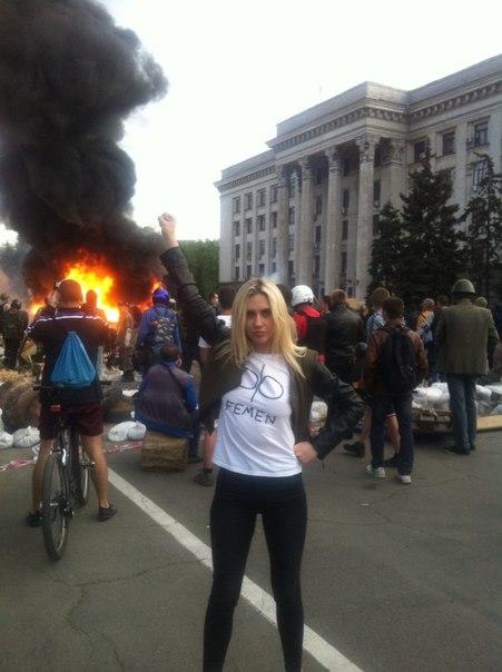 """Caroline Fourest : """"Les Femen ne sont pas nazies !"""" Bon, enquêtons alors… Eugenia-krayzman-05"""
