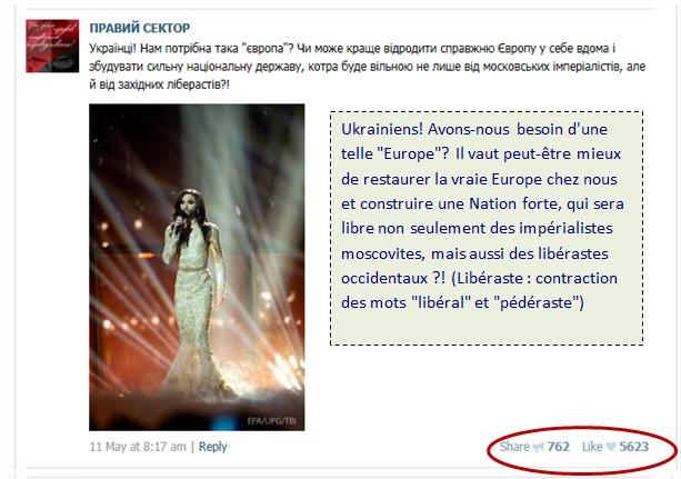 """Caroline Fourest : """"Les Femen ne sont pas nazies !"""" Bon, enquêtons alors… Pravy-sektor-vk-17"""