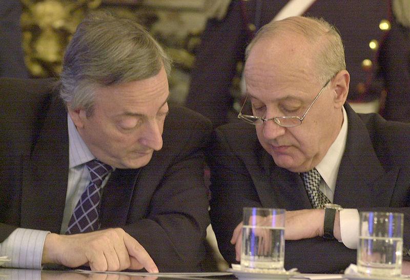 Roberto Lavagna et Kirchner