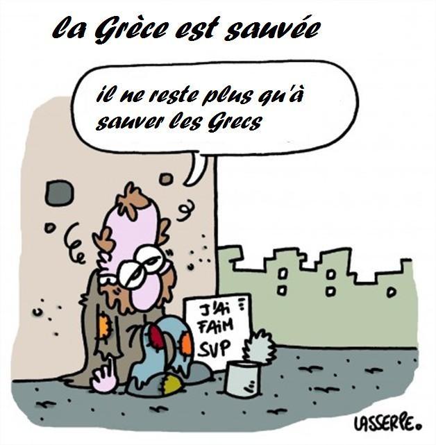 humour dessin grece