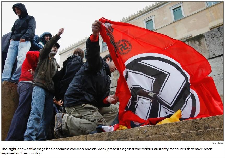 grece nazi allemagne