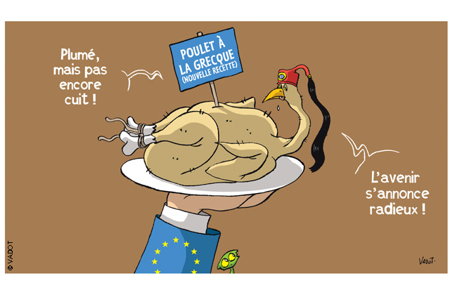 dessin humour cartoon grece