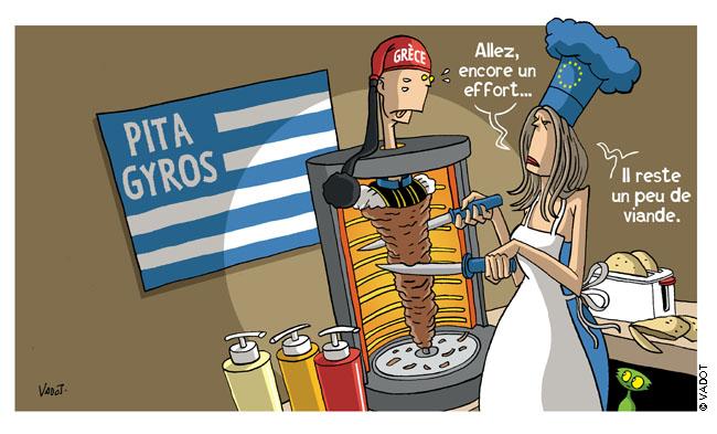 dessin humour cartoon grece