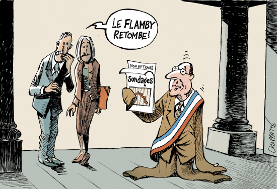 dessin humour cartoon hollande flamby