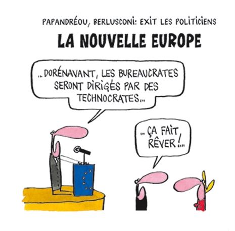 dessin humour cartoon mario draghi