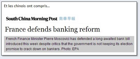 presse unanime réforme loi bancaire banques