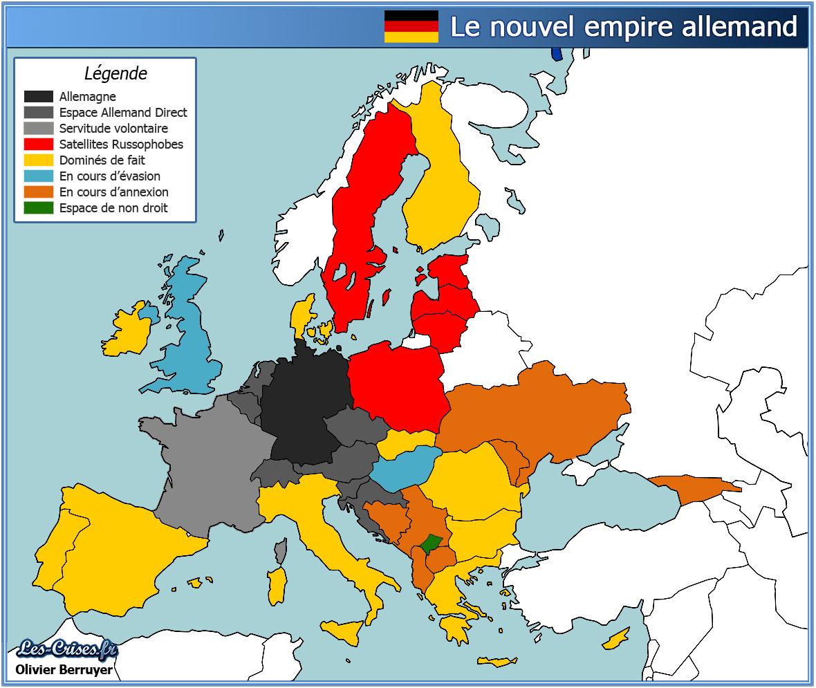 ECONOMIE ► Le contrôle allemand des enjeux gaziers est la véritable cause du conflit avec la Russie ?