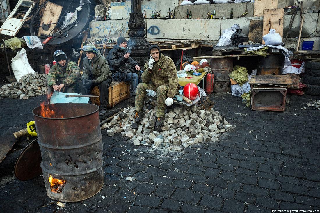 maidan euromaidan kiev ukraine protester manifestants