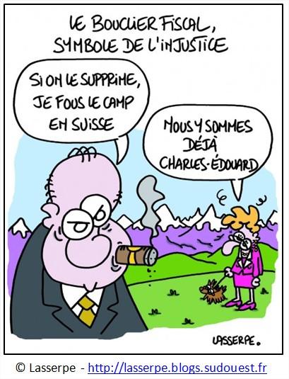 Dessin Bouclier Fiscal